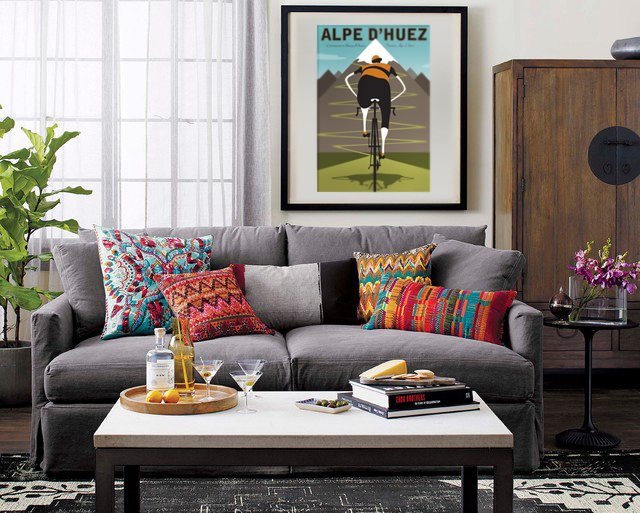 Alpe d'Huez Living Room Setting