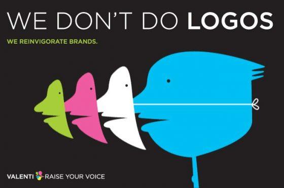 We don't do logos