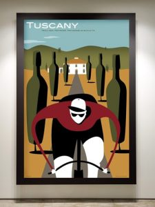 New work for Cycling Tourism retail clients.