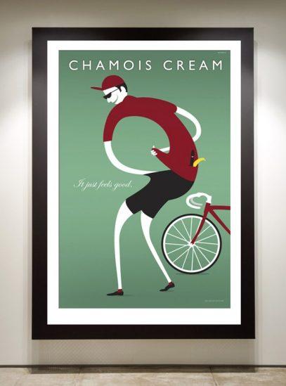 Chamois Cream framed