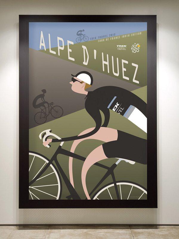 TT Alp d Huez framed