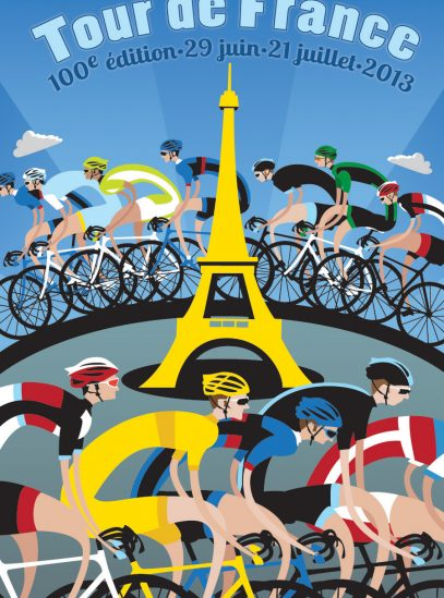 TdF Tower Poster 900