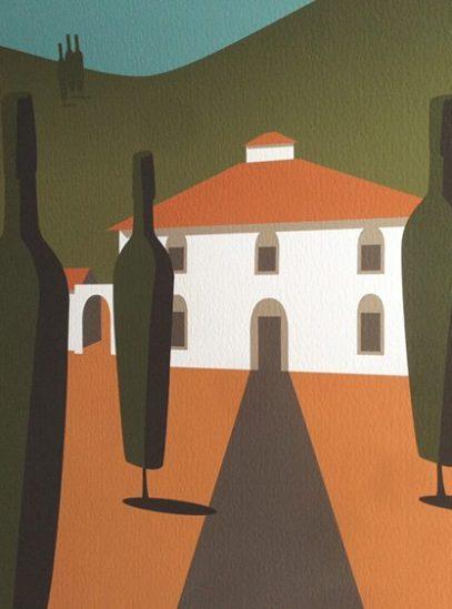 Tuscany villa detail