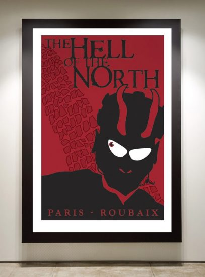 Hell of the North framed