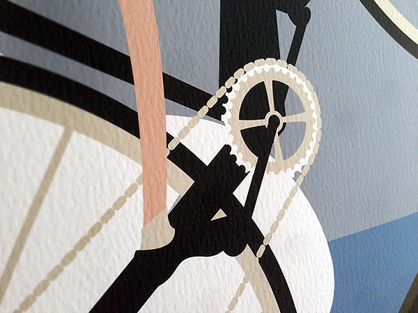 Tourmalet bike detail