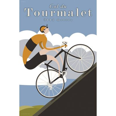 Col du Tourmalet | Cycling Art Print