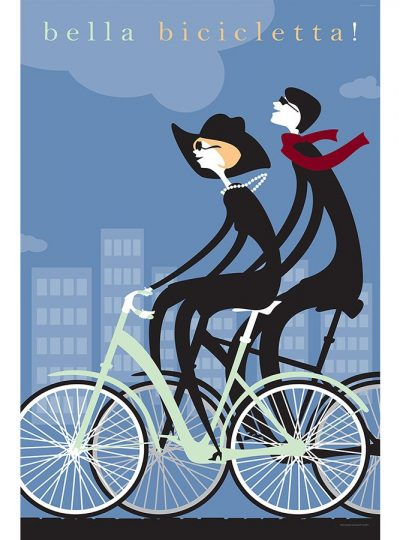 Bella Bicicletta | Cycling Art Print