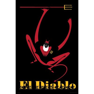 El Diablo | Cycling Art Print