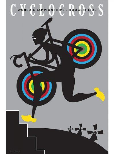 CX Hoogerheide | Cycling Art Print