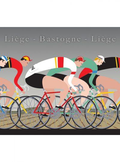 Liege Bastogne Liege | Cycling Art Print