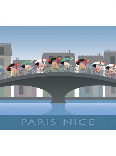 Paris Nice | Cycling Art Print
