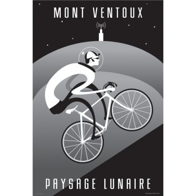 Ventoux Moonscape | Cycling Art Print