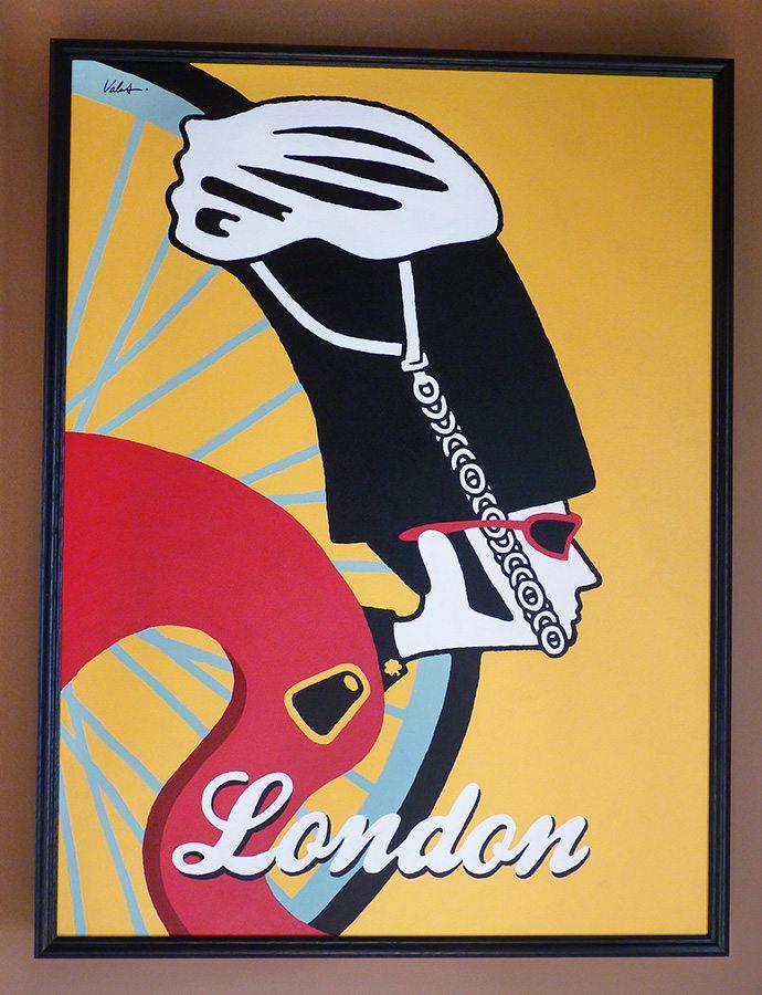 London framed