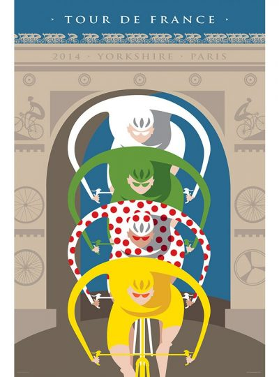 Tour de France Triomphe | Cycling Art Print