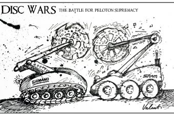 """""""Disc Wars"""" The battle for peloton supremacy."""