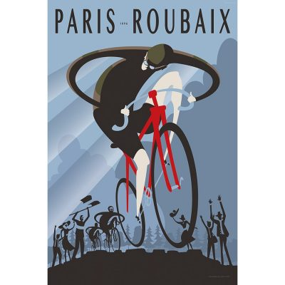 Paris Roubaix 1896 | Cycling Art Print