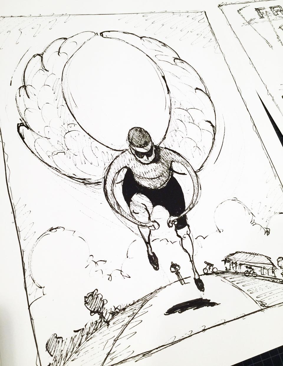 winged rider