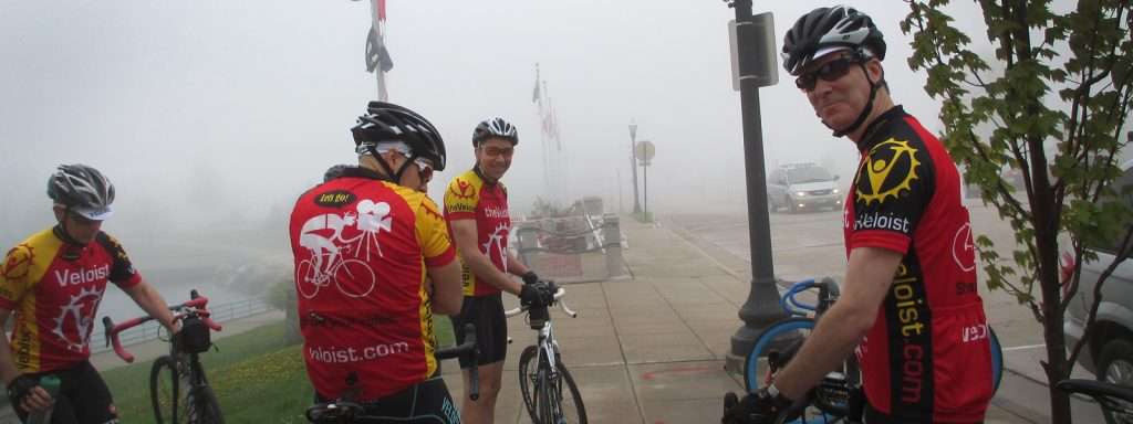 Veloist Club in Fog
