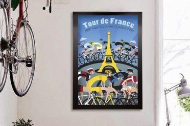 A nice home for my Cycling Art.