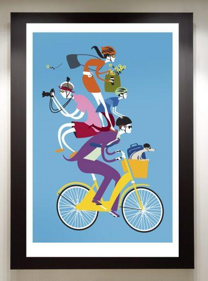 Share the Love framed print.