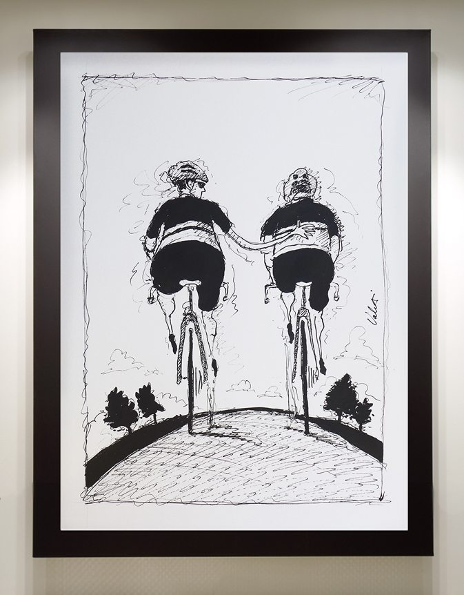 Riding Mates Framed