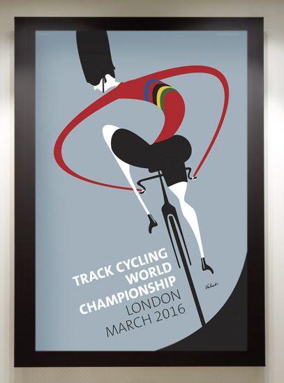 World Championship Track Framed