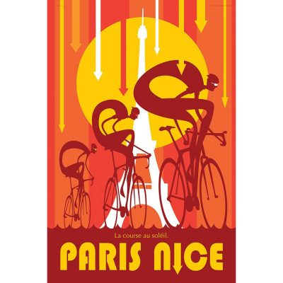 Paris Nice-Race to the Sun Art Print
