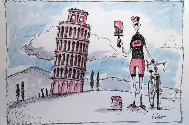 Pumped for Giro Pink!