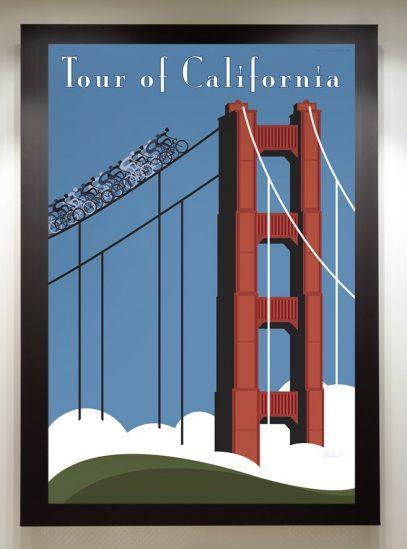 Tour of California framed