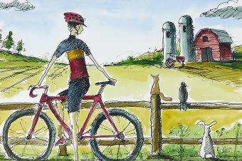 My perfect world of Cycling.