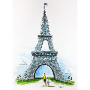 Tour de France Dreams | Cycling Art Print