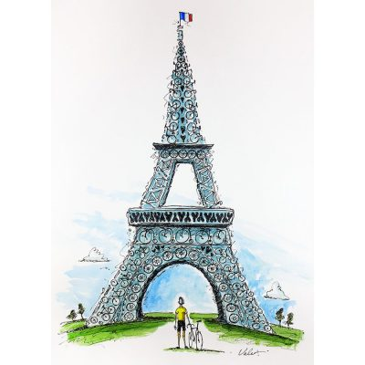 Tour de France Dreams | Cycling Art Print