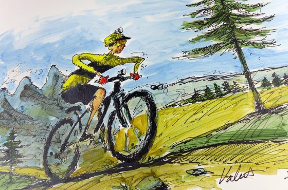 24 Hours of Mountain Bike Art