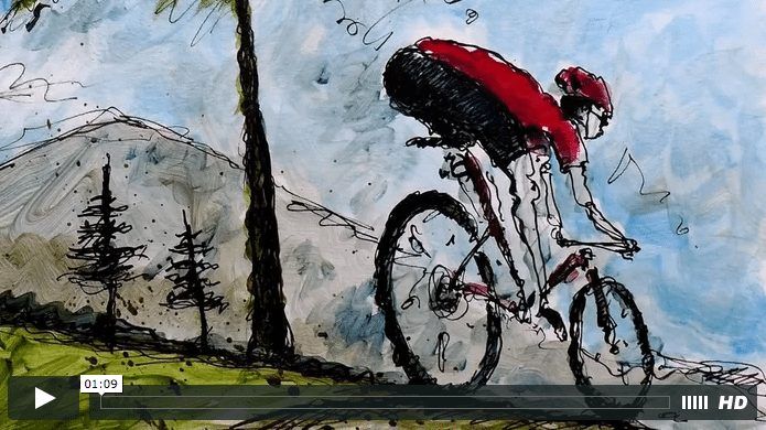 24 Hours of Cycling Art