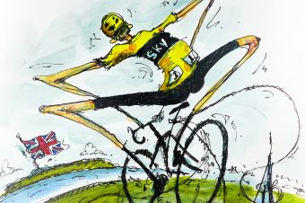Froome takes home three.