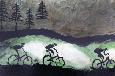 24 Hours of Cycling Art Video