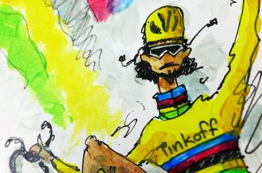 """Rainbow Gold"" for Peter Sagan"