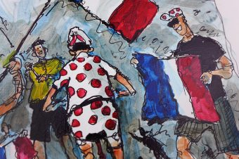 Pinot storms Ventoux.