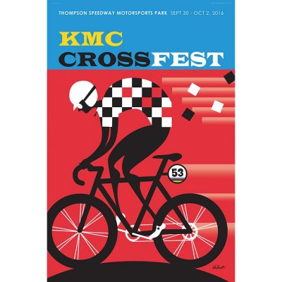 KMC CrossFest | Cycling Art Print