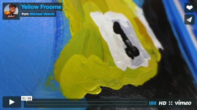 Yellow Froome | Time lapsed Video