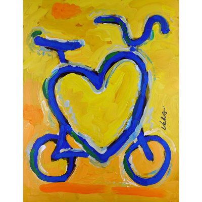 Sunshine Love Bike | Original Cycling Art
