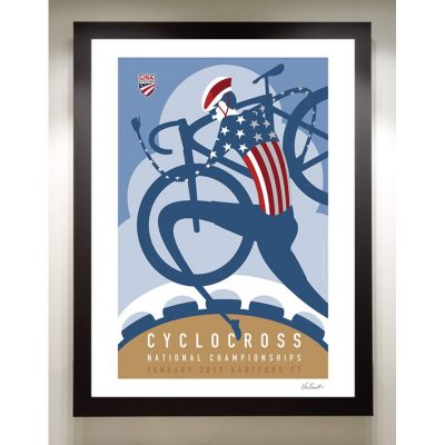 USA Cyclocross Nationals | Signed Edition Cycling Print