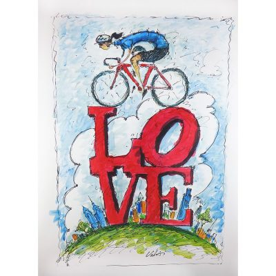 LOVE Philly | Original Cycling Art