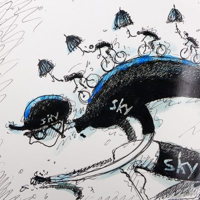Ready for Anything | Tour of Yorkshire | Original Cycling Art