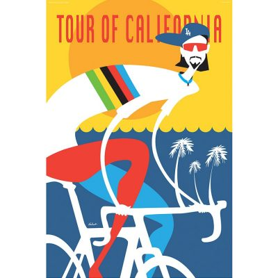 Tour of California 2017 | Cycling Art Print