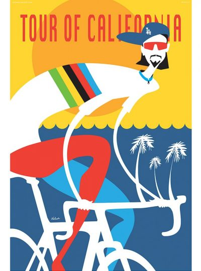 Tour of California | Cycling Art Print