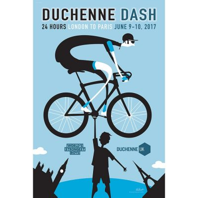 Duchenne Dash | Cycling Art Print
