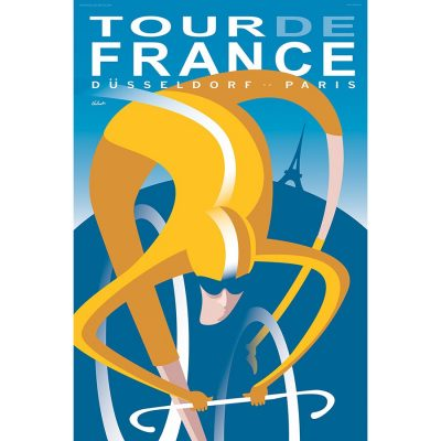 Tour de France 2017 | Cycling Art Print