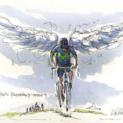 Giro Original Cycling Art | Stage 9