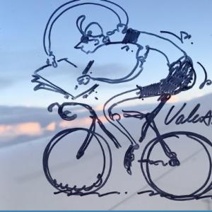21 Days of Cycling Art. Voilá!